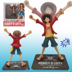 One Piece Luffy Cartoon PVC Anime Figure For Kids Gifts