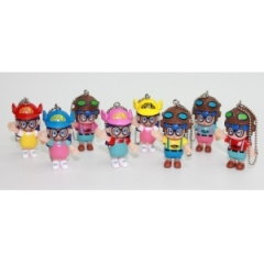 Dr. Slump IQ Anime Figure Phonestrap