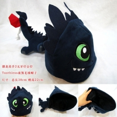 How to Train Your Dragon Anime Plush Hat(38cm)