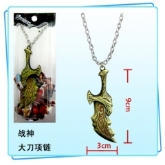 God of War Anime Necklace