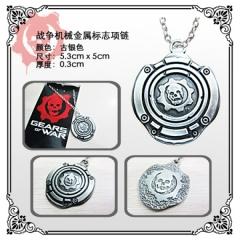 Gears of War Anime Necklace