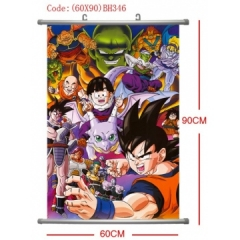 Dragon Ball Anime Wallscrolls (60*90CM)