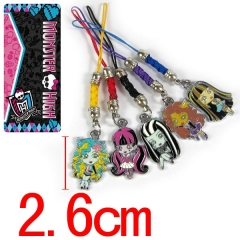 Monster High Anime Phone Strap
