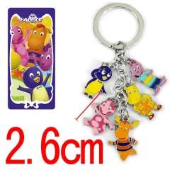 The Backyardigans Anime Keychain