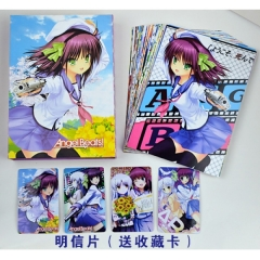 Angel Beats Anime Postcard