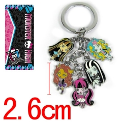 Monster High Anime Keychain