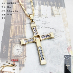 Fast & Furious Cross Anime necklace