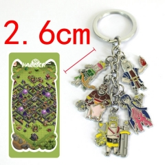 Clash of Clans Anime Keychain