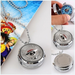 One Piece Anime Necklace Watch