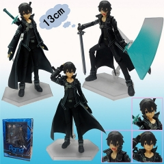 Figma #174 Sword Art Online Kirito Can Change Face Figures Anime PVC Figure