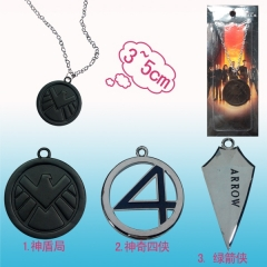 3 Styles Anime Necklace