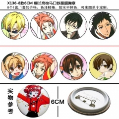 Ouran High School Anime Brooch
