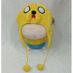 Adventure Time Anime Plush Hat