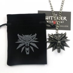 The Witcher 3 Black Eye Anime Necklace(12pcs per set)