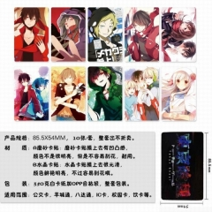 MekakuCity Actors Anime Stickers (5pcs/Set)