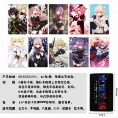 Seraph of the end Different Design Anime Stickers (5pcs/Set)