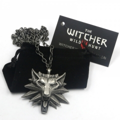 The Witcher 3 Hot Sale Anime Necklace Wholesale(12pcs per set)