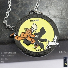 The Adventures of Tintin Anime Necklace
