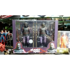 Neca Rise of the Planet of the Apes Figure Set 7 Inch (2pcs pe