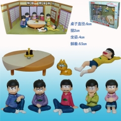 Osomatsu-san Anime Figure (6pcs/set)