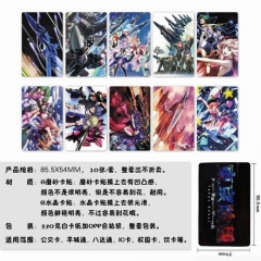 The Super Dimension Fortress Macross Anime Stickers (5pc Per Set