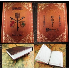 Attack on Titan Anime Notebook