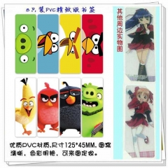 Angry Birds Anime Stickers (5pc Per Set)