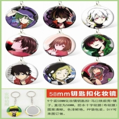 MekakuCity Actors Anime Keychaon