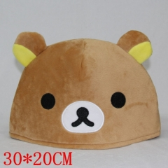 Rilakkuma Anime Plush Hat 30*20CM