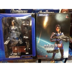 Play Arts MASS EFFECT  Ashley Williams Collectible Anime Figure (25CM)
