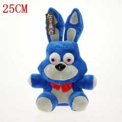 Five Nights at Freddy's Dolls Anime Blue Rabbit Plush Toy 25CM