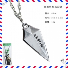 Green Arrow Anime Necklace