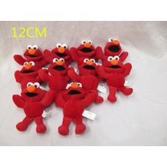 Sesame Street Anime Plush Toy Keychain (10pcs/Set)