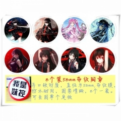 Akame ga KILL Anime Brooch and Pin