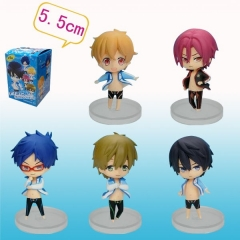 Free Anime Figures (5pcs/set)