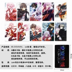 Guilty Crown Anime Stickers (5pcs/Set)