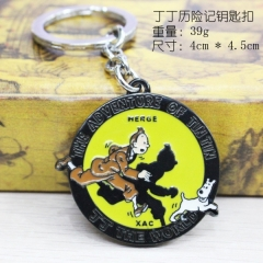 The Adventures of Tintin Anime keychain
