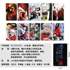 Inuyasha Anime Stickers (5pc Per Set)