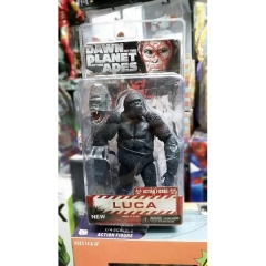 Neca Rise of the Planet of the Apes Luca Action Figure Toys