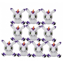 Digital Monster Anime Plush Pendant12cm(10pcs/set)