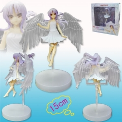 Angel Beats Tachibana Kanade Cartoon Model Toys Anime Figure 15cm
