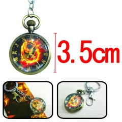 The Hunger Games Anime Keychain Watch