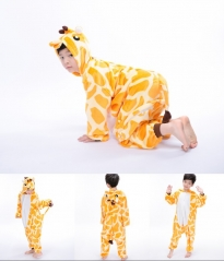 Children Giraffe Animal Pyjamas