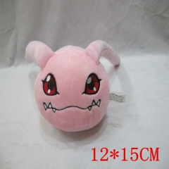 Digital Monster Anime Plush Toy  12X15CM