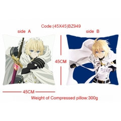 Seraph of the end Anime Pillow 45*45cm(Two Side)