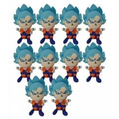 Dragon Ball Anime Plush Pendant 12*8cm(10pcs/set)