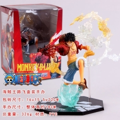 Japanese One Piece Luffy Cartoon PVC Anime Figure