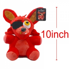 Five Nights at Freddy's Nightmare Fox Anime Plush Toy Doll 10Inch