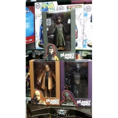 Neca Rise of the Planet of the Apes Anime Figure 6 Inch (3PCS Pe