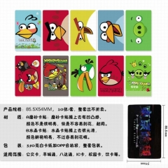 Angry Birds Anime Stickers (5pcs/Set)